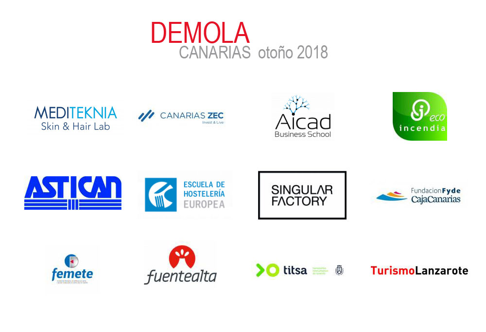 demola otono 2018 logotipos