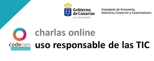 charlas online uso responsable tic