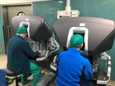 marcas centros de cirugía de próstata con da vinci 2020